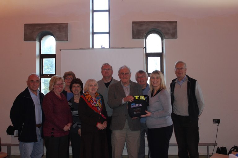 Ajuda installs AED Defib at Newport Cathedral