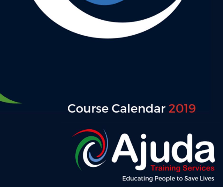 2019 Training Dates at Ajuda