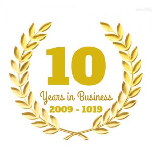 Ajuda 10 Years Logo