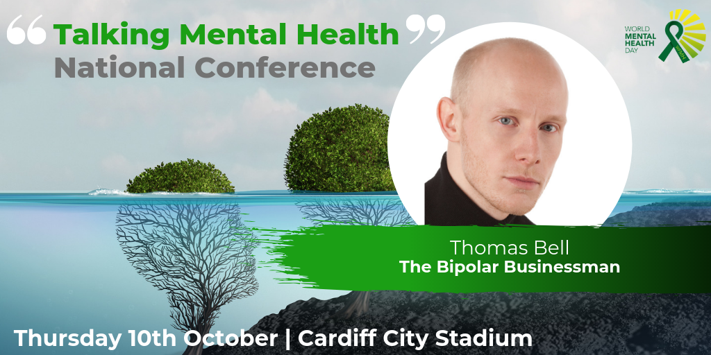 The Bipolar Businessman Talks at Mental Health Conference