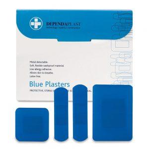 Dependaplast Blue Plasters