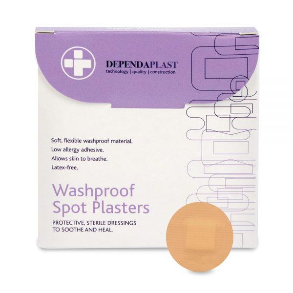 Dependaplast Washproof Spot Plasters - Perforated