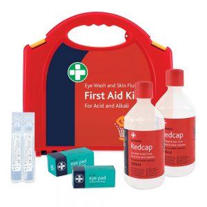 Eye Wash and Skin Flush Kit