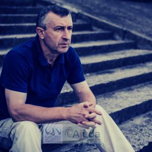 Man sat Isolated - Mental Health Awareness