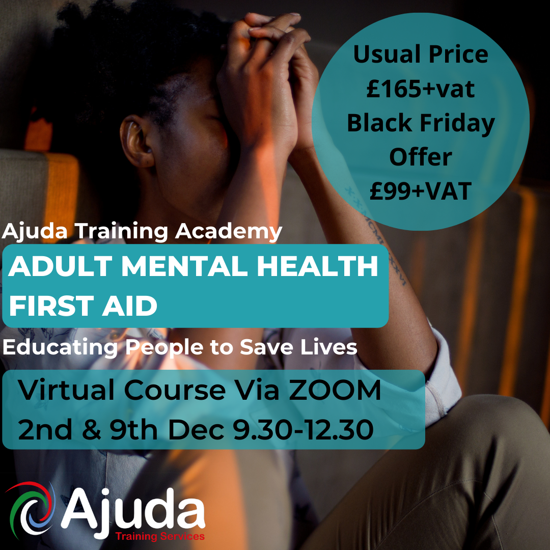 Adult Mental Health First Aid Course Cover