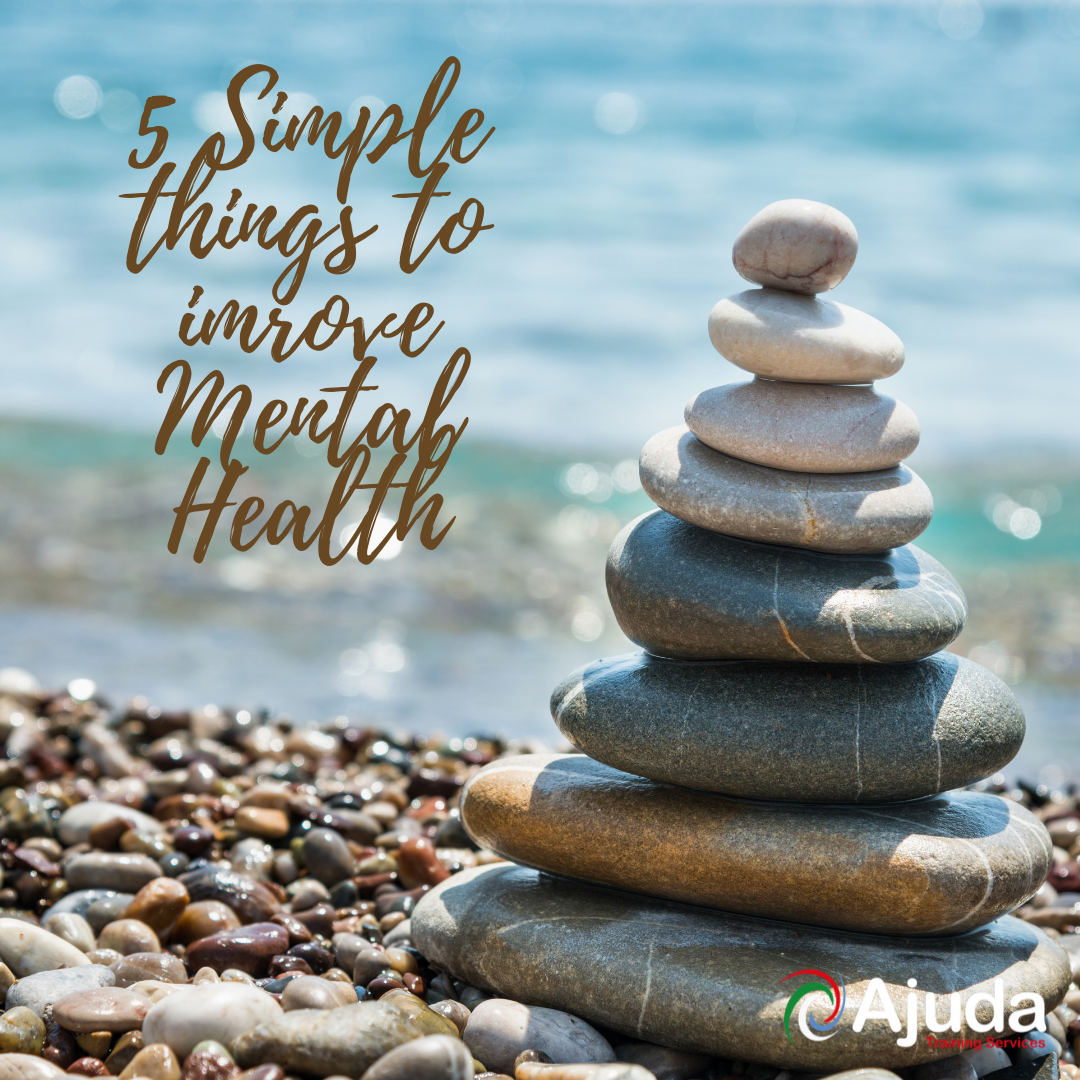 5 Simple things businesses can do to improve health and wellbeing in the workplace.